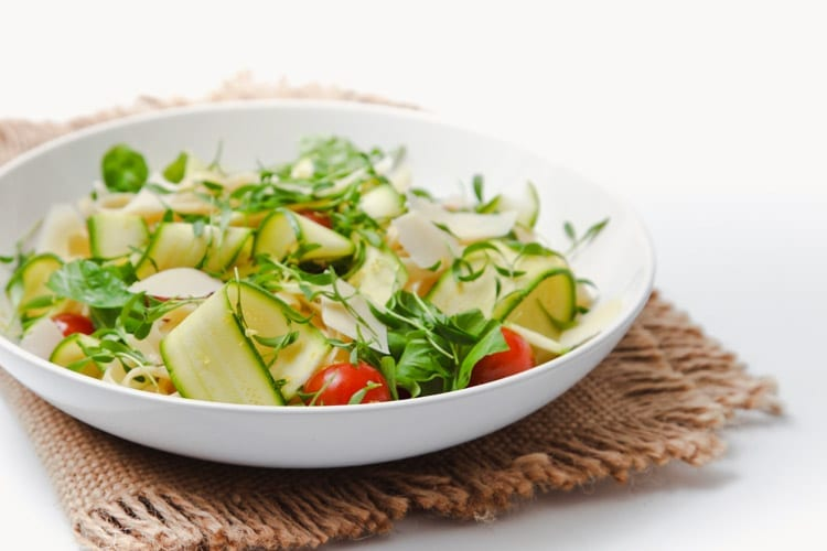 How to make a beautiful, simple Summer Zucchini Salad